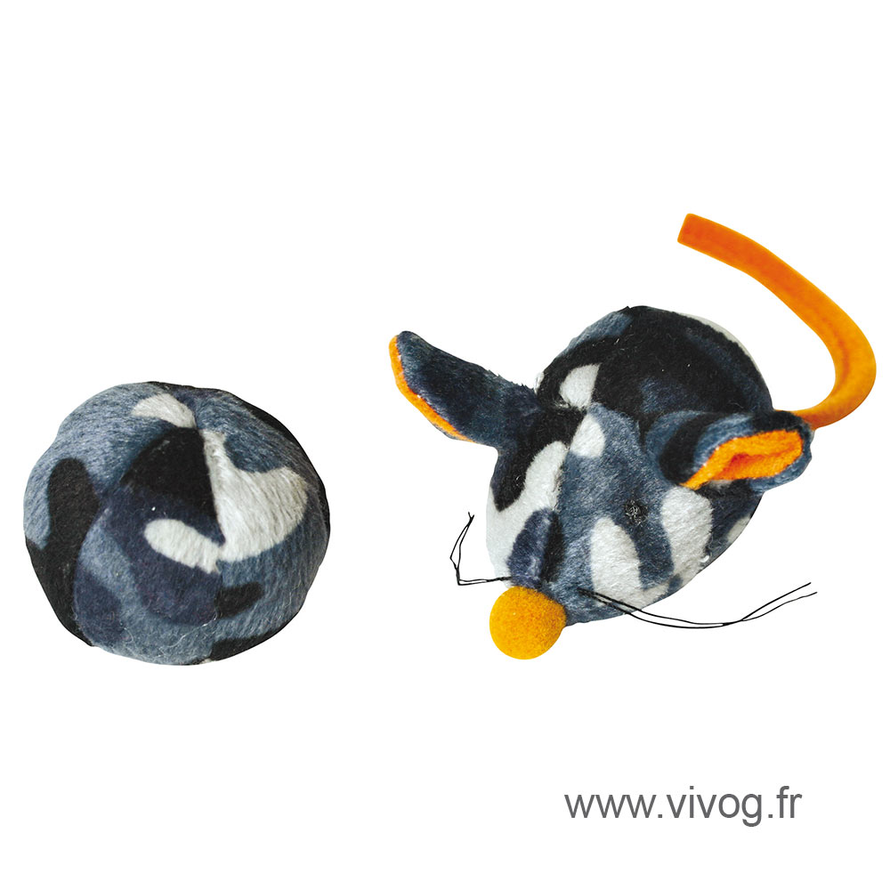 Cat Toys - Duo ball mouse