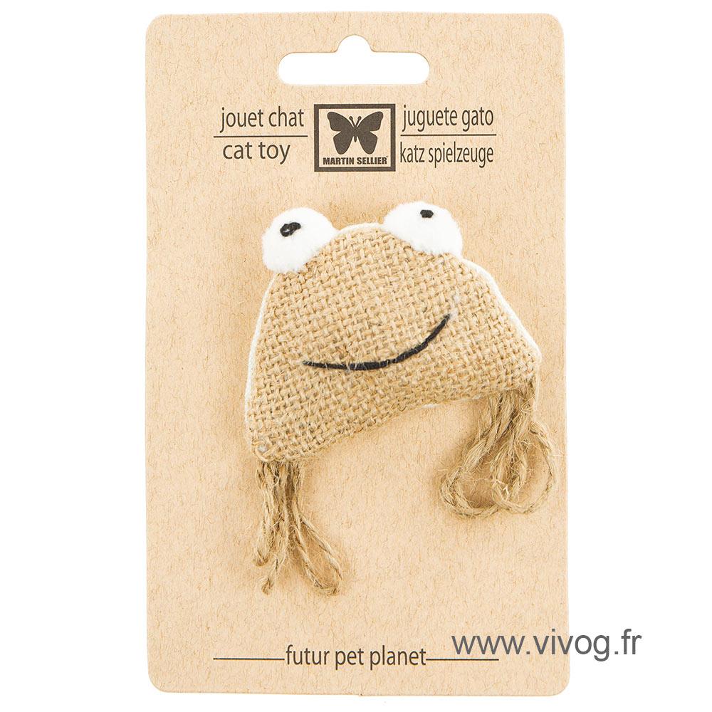 Cat toy - frog