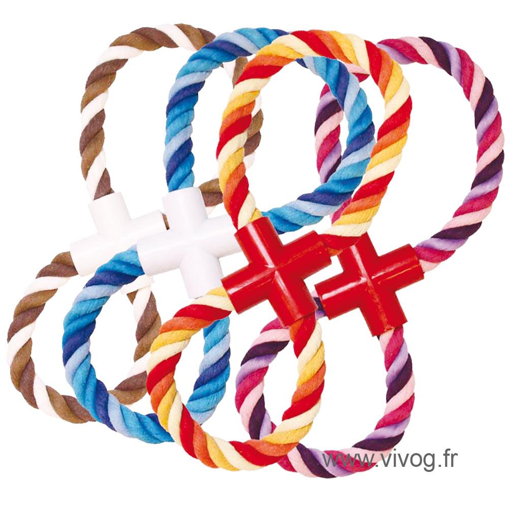 Dog Toy - Set of 4 ropes super 8