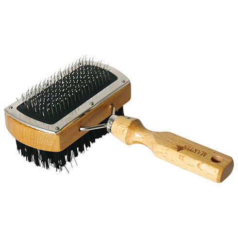More informations about: Dog and cat brush - double Sliker brush