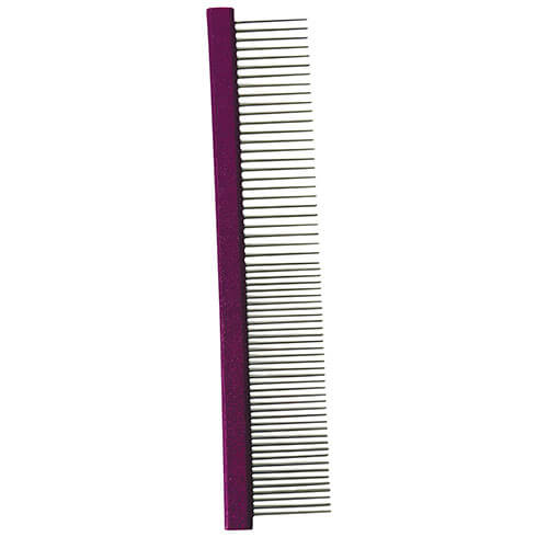 More informations about: Dog and cat comb - rectangular back 19.5 cm