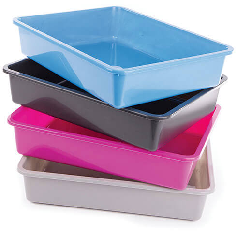 More informations about: litter box - rimless cat box
