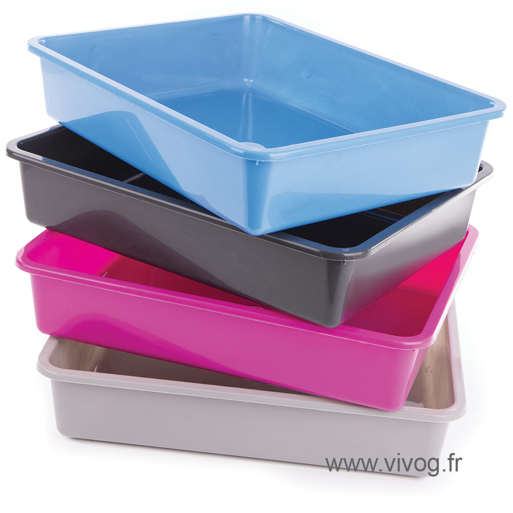 litter box - rimless cat box