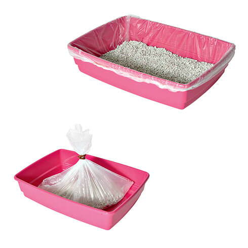 More informations about: litter box - 10 bags with cat box link