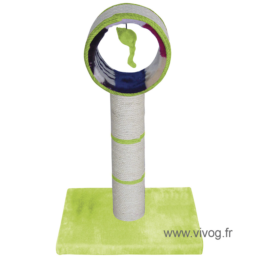 Arbre a chat - Periscope Color - Vert citron