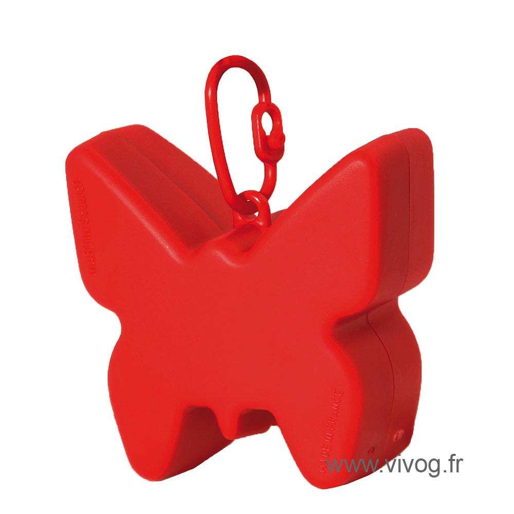 Ramasse crotte - distributeur de sac - rouge
