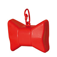 More informations about: Picks up dirt - bag dispenser - Bow red