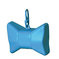 More informations about: Picks up dirt - bag dispenser - Bow blue