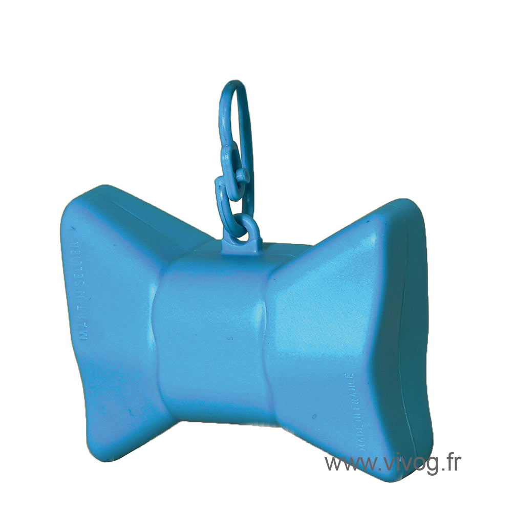 Ramasse crotte - distributeur de sac - Nœud bleu