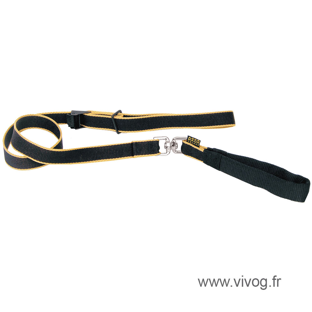 Lead collar for dog - Safran