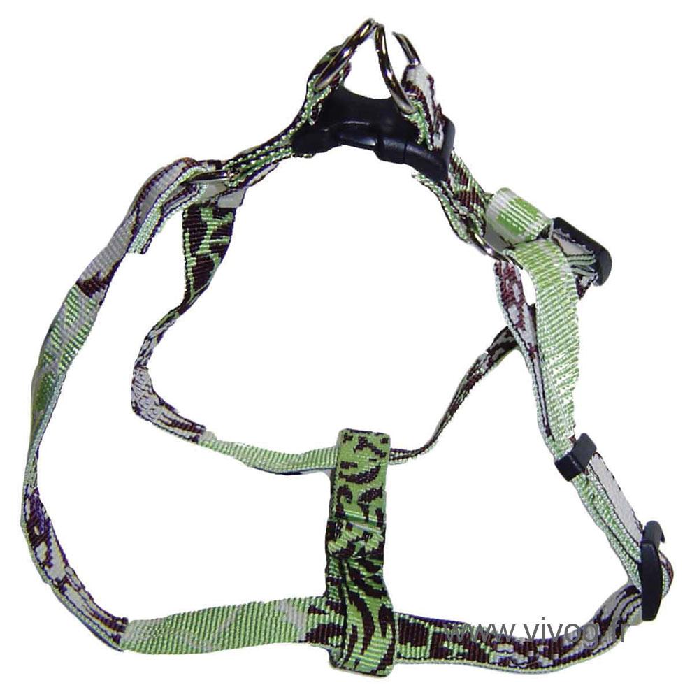 Step in dog harness - Bamboo Jasmine