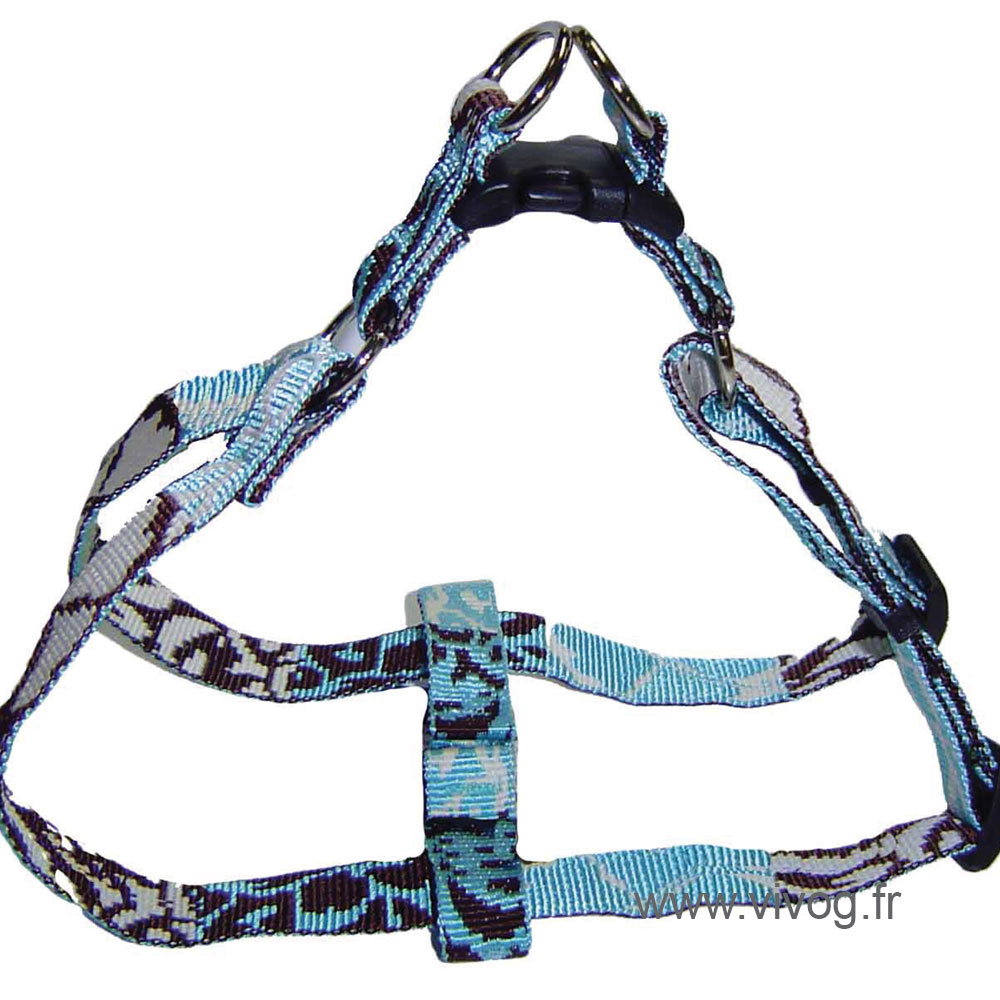 Step in dog harness - Bamboo Opal