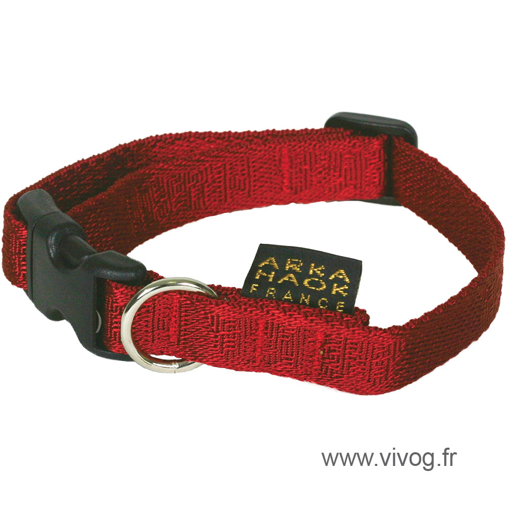 Dog collar - Rubis