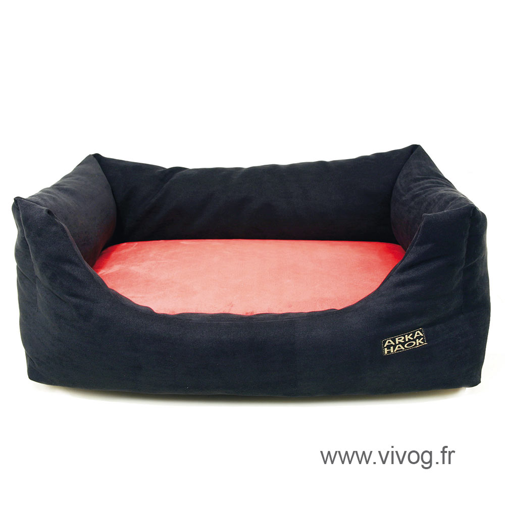 Domino dog basket - memory foam