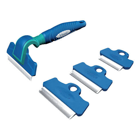 More informations about: Eliminator rake with 4 removable blades