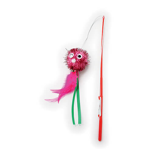 More informations about: Fishing rod for cats with a doll, rod 30 cm
