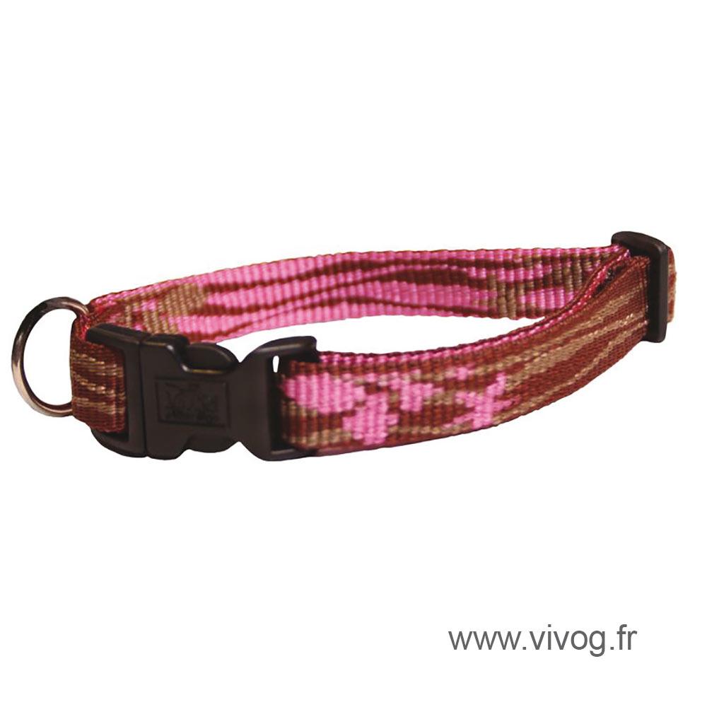 Collier pour chien - Lagoon rose
