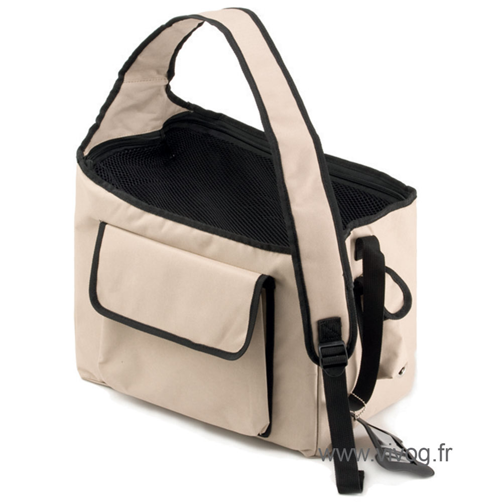 Carrying bag for dogs and cats - Balladin beige