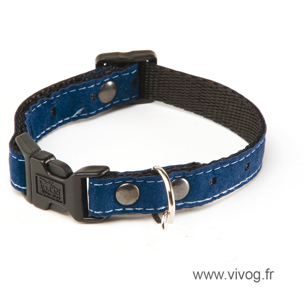 Dog collar - 5th avenue blue