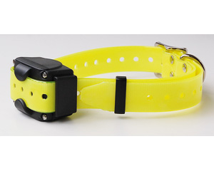 More informations about: Added collar for CANICOM 800, 1500 and 1500PRO - fluorescent yellow strap