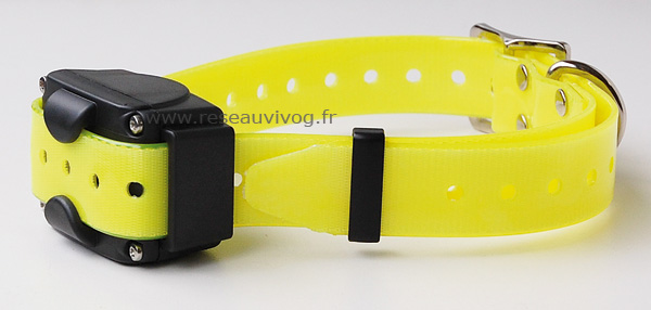 Added collar for CANICOM 800, 1500 and 1500PRO - fluorescent yellow strap