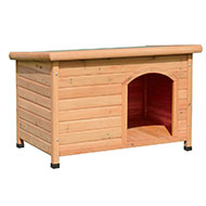 More informations about: Wood dog kennel with flat roof