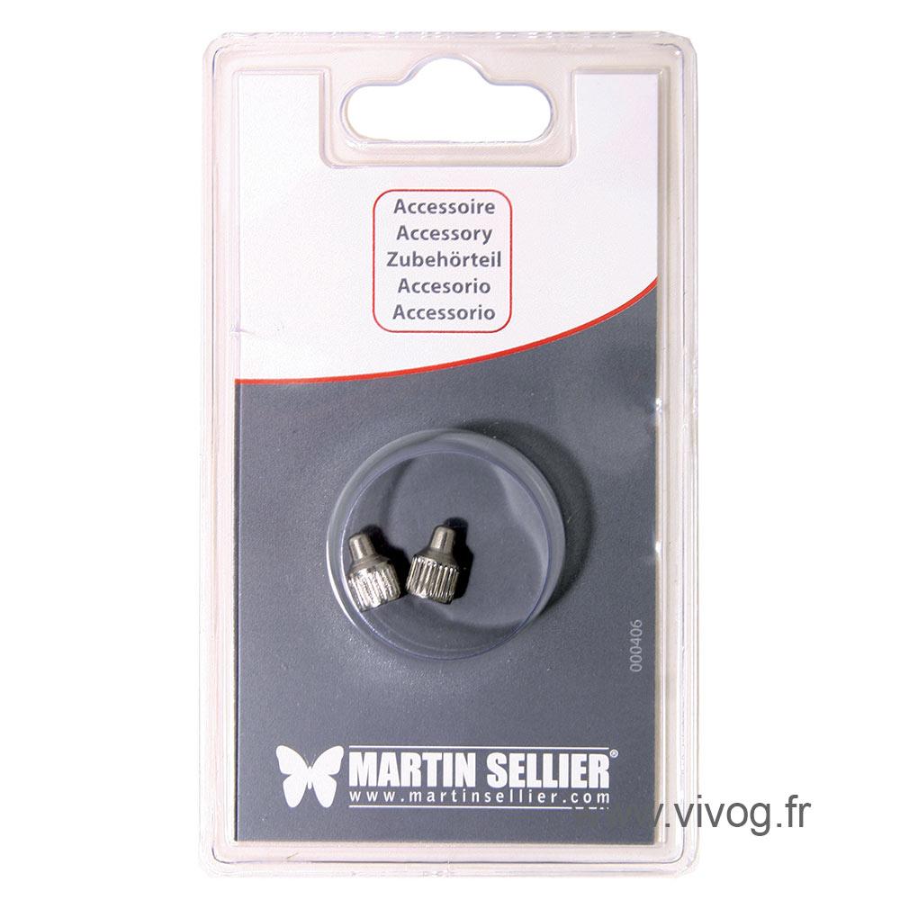 2 électrodes courtes pour collier Effitek