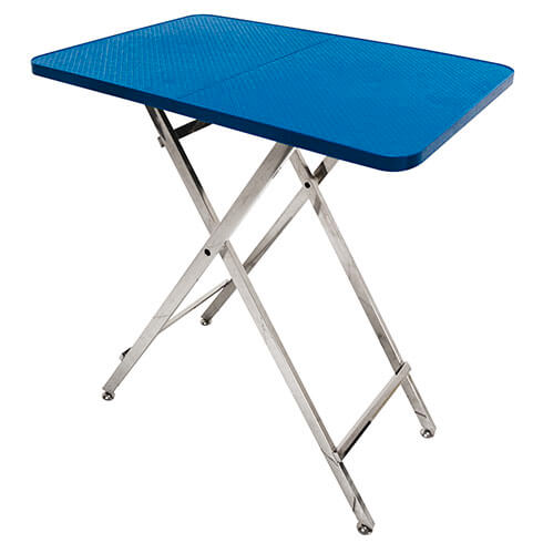 More informations about: Light Vivog grooming table blue