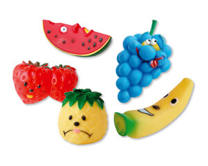 Plus d'informations sur le produit : Lot de 5 fruits