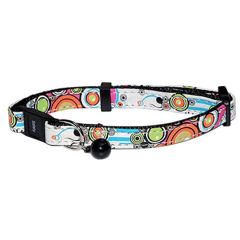 More informations about: Collar multicolored for cat