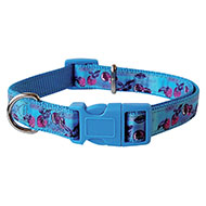More informations about: Cherries nylon collar blue