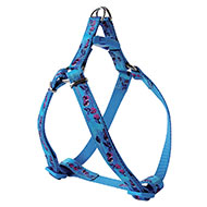 More informations about: Cherries nylon harness blue