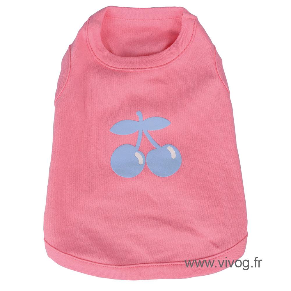 T-shirt cherry rose  - sport cerise