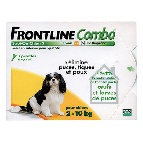More informations about: Frontline Combo dog S
