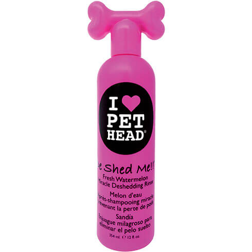 Plus d'informations sur le produit : Shampooing Pet Head - De Shed me rince