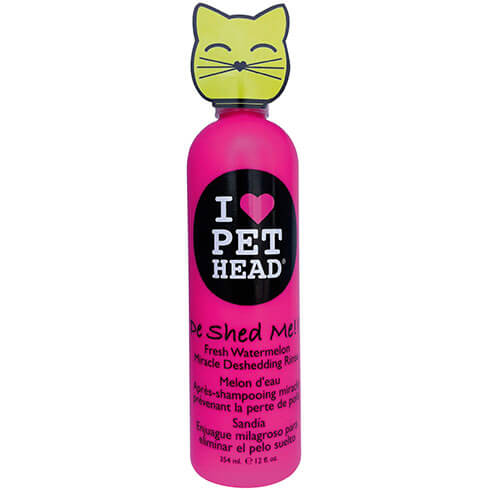 Plus d'informations sur le produit : Shampooing Chat Pet Head - De Shed me rince 354ml