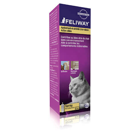 More informations about: Feliway spray 60 ml