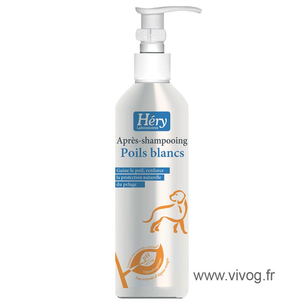 Après shampooing poils blancs Héry