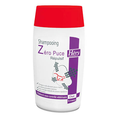 More informations about: Shampoiong chat Zéro Puce 200ml