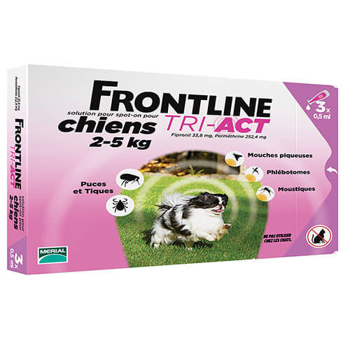 More informations about: Frontline Tri-Act pour chien de 2-5kg