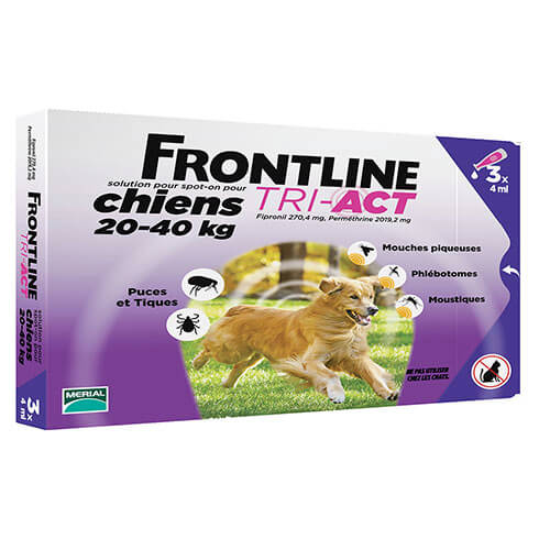 More informations about: Frontline Tri-Act pour chien de 20-40kg