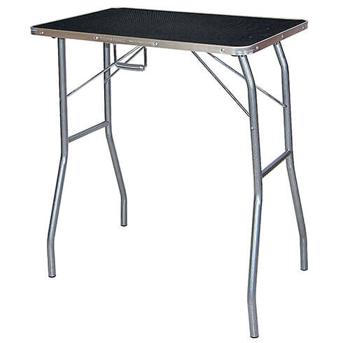 Classic folding grooming table - TA010 -  Black