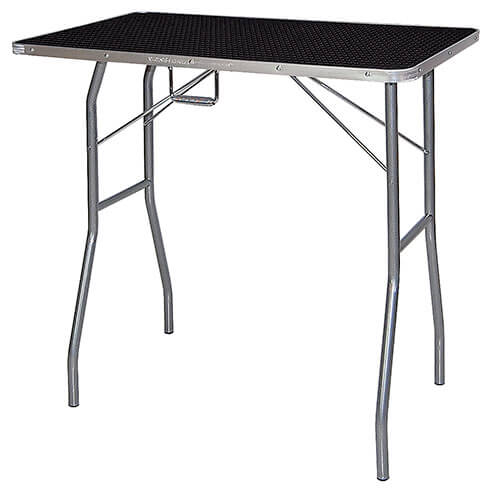 Classic folding grooming table - TA011 -  Black