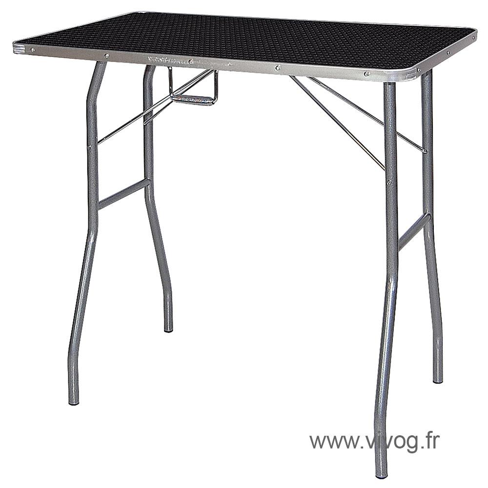 Classic folding grooming table - TA011