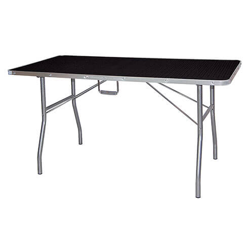 Classic folding grooming table - TA012 -  Black