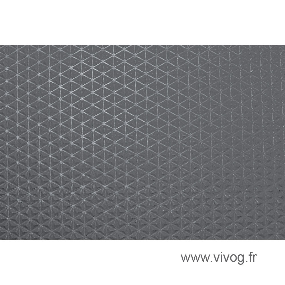 Mats measure for wood trays - Grey