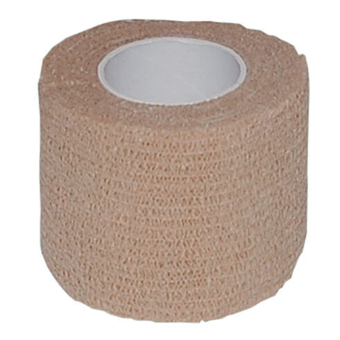 More informations about: Self adhesive bandage - brown