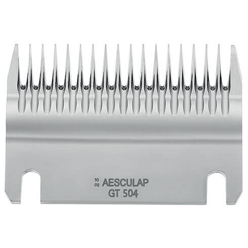 More informations about: Blade Aesculap GT504 for Bovine Econom II - 18 teeth - 3mm