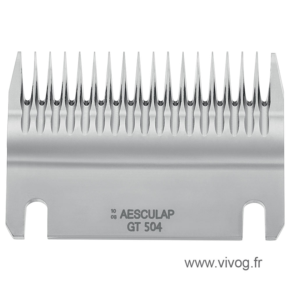 Blade Aesculap GT504 for Bovine Econom II - 18 teeth - 3mm