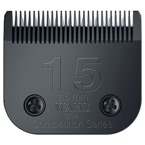 More informations about: Clipper blade Clip system - Wahl Ultimate Competition - N°15 - 1.5mm